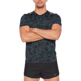 2XU GHST SS Shirt Men, negro/Turquesa